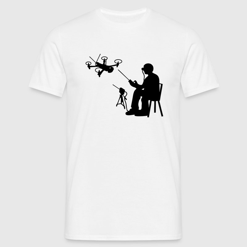 FPV Pilot Quadrocopter T-Shirts - Men's T-Shirt