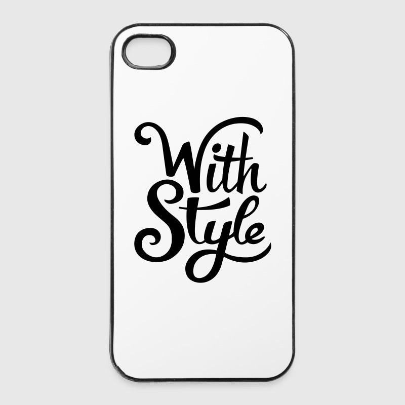 With Style! Cool & Trendy Typography Design  Phone & Tablet Cases - iPhone 4/4s Hard Case