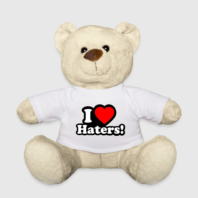 I LOVE HATERS - I LOVE ENVY Peluches - Osito de peluche