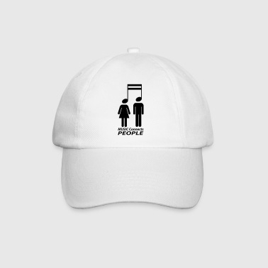 music connects people Mugs & Drinkware - Baseball Cap