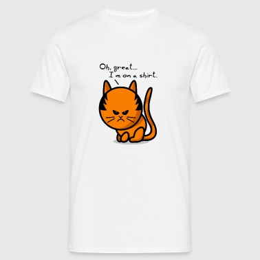 cat grumpy cat on shirt Vêtements de sport - T-shirt Homme