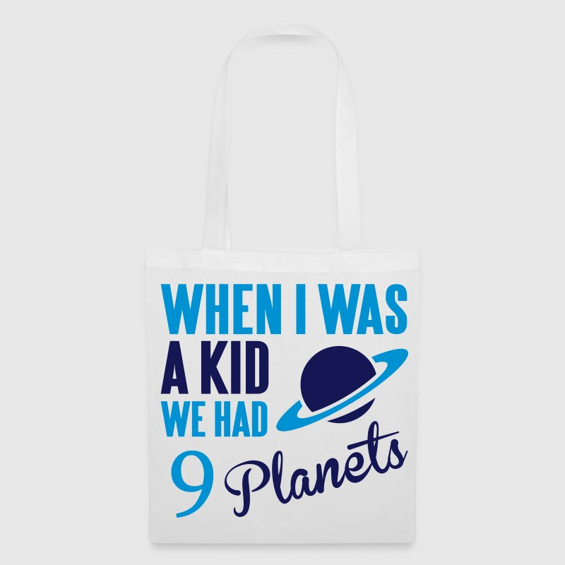 When I was a kid, we had 9 Planets Bags & Backpacks - Tote Bag