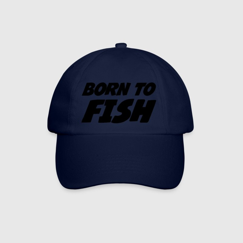 Born to Fish Caps & luer - Baseballcap