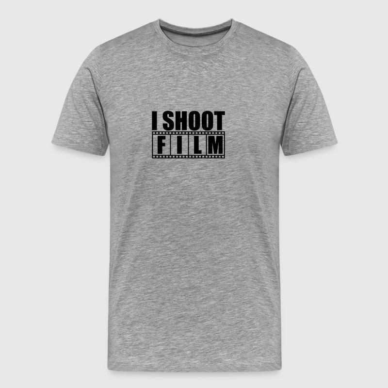 I Shoot film Logo T-Shirts - Men's Premium T-Shirt