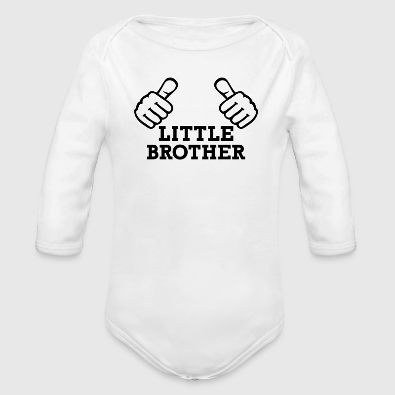 Little Brother Pullover & Hoodies - Baby Bio-Langarm-Body