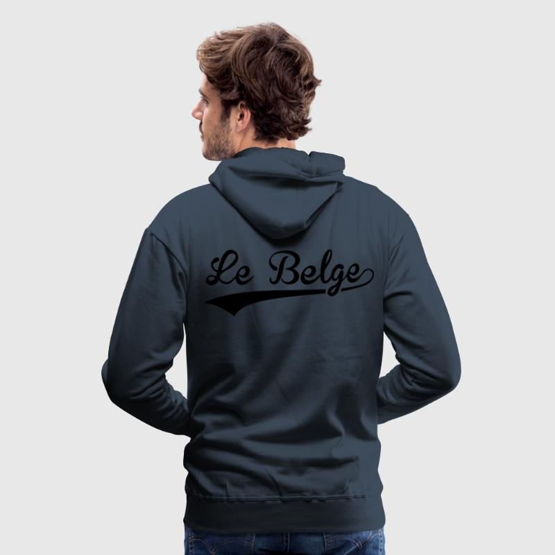 Le Belge Sweat-shirts - Sweat-shirt à capuche Premium pour hommes