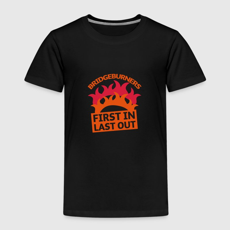 BRIDGEBURNERS Bridge Burners First in last out Shirts - Kids' Premium T-Shirt