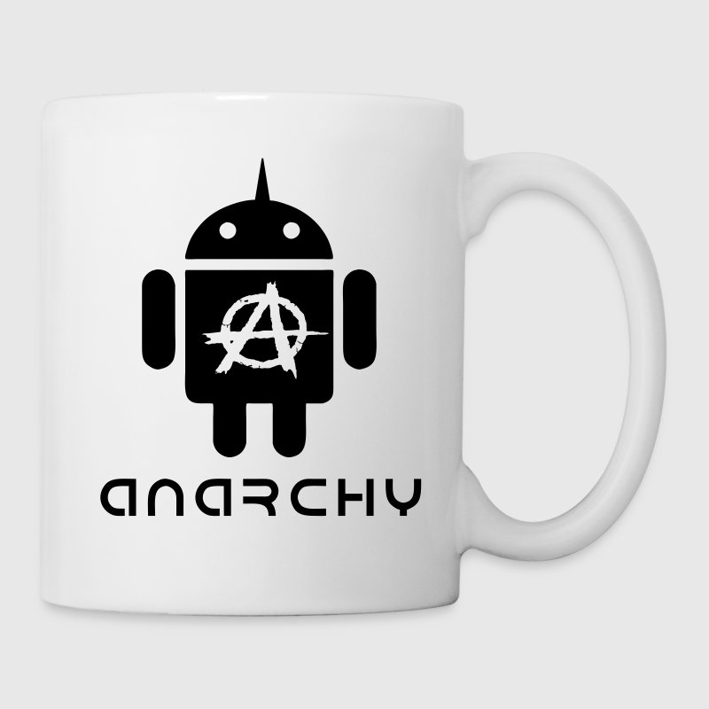ANARCHOID1 VECTOR Mugs & Drinkware - Mug
