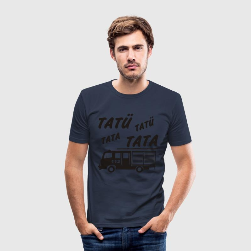 Dark navy Tatü Tata T-Shirts - Männer Slim Fit T-Shirt