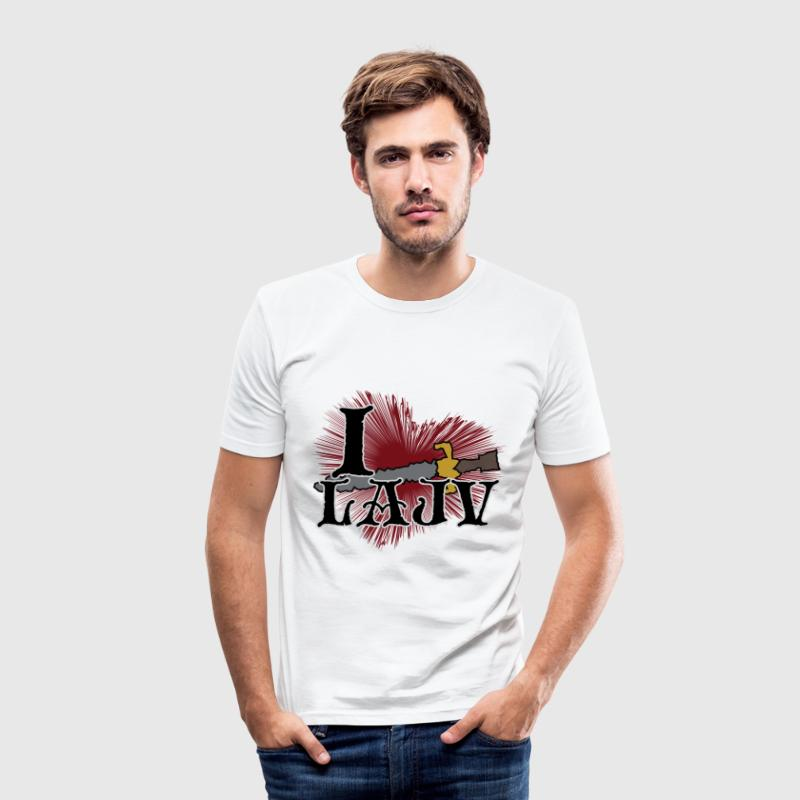 Lajv - Slim Fit T-shirt herr