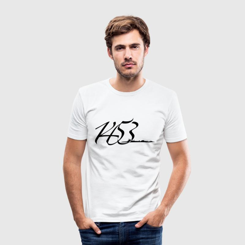1453 T-Shirts - Männer Slim Fit T-Shirt