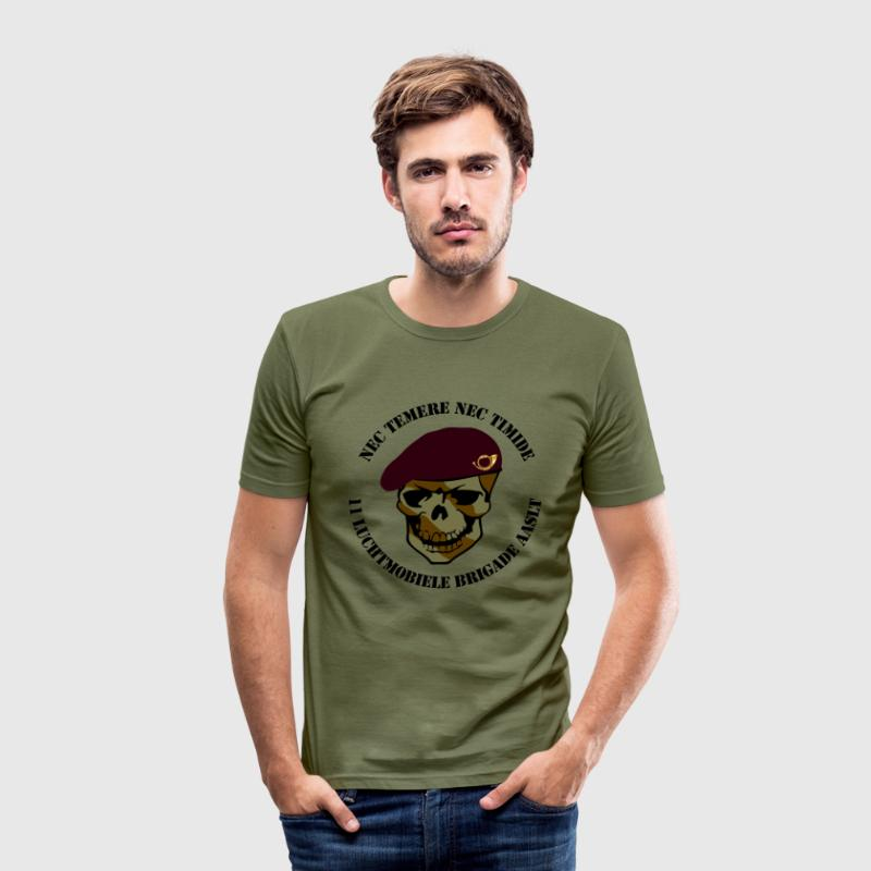 Nec Temere Nec Timide Garde Jagers 11 Luchtmobiele Brigade AASLT T-shirts - slim fit T-shirt
