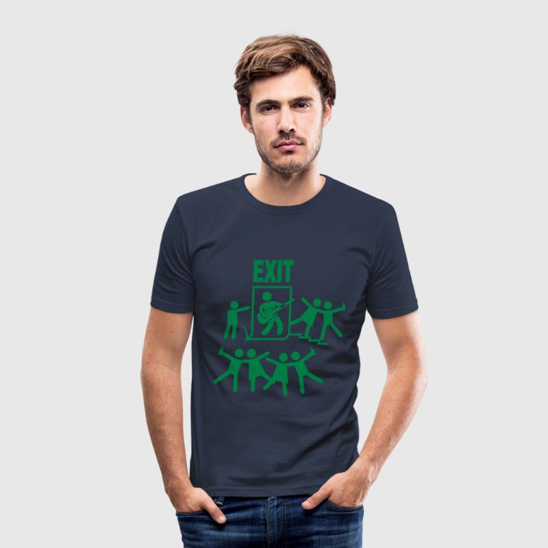 Exit Festival Novi Sad T-Shirts - Männer Slim Fit T-Shirt