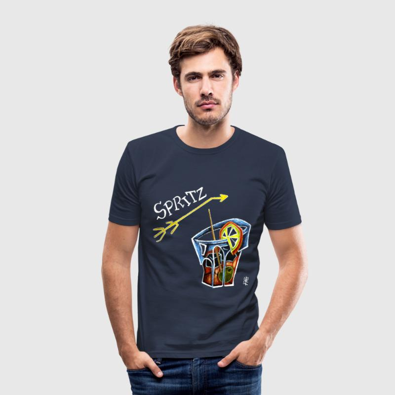 Art Design Spritz Aperol - Venice Italy - Men's Slim Fit T-Shirt