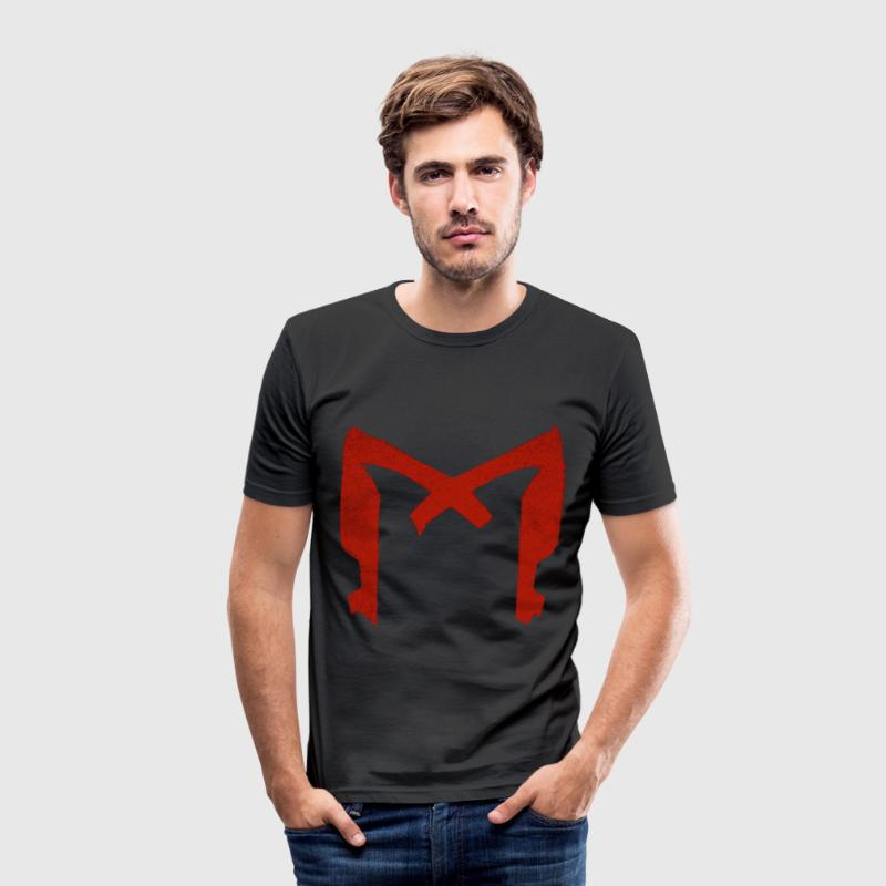 Dredd.png T-Shirts - Men's Slim Fit T-Shirt