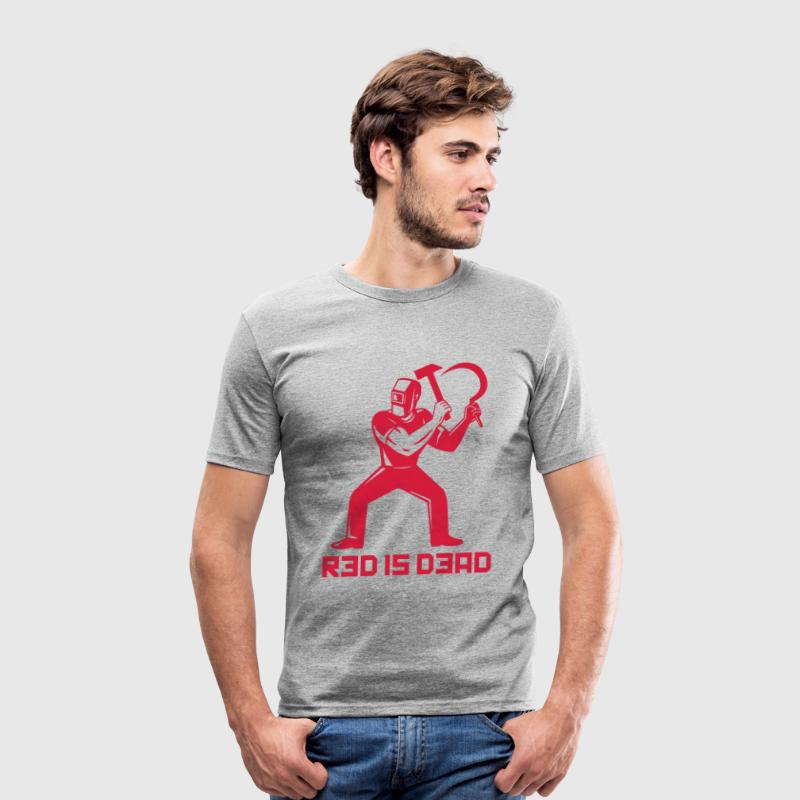 Red is Dead Tee shirts - Tee shirt près du corps Homme