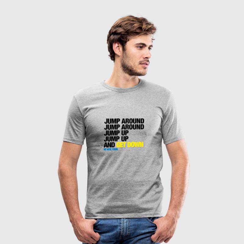 T-Shirt Col rond Jump Around - Tee shirt près du corps Homme