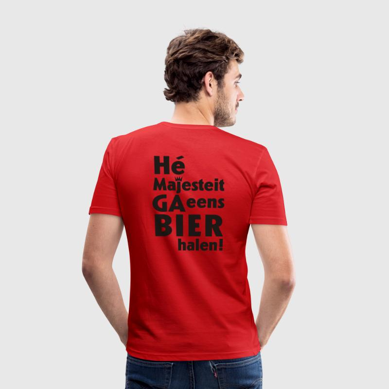 Majesteit - slim fit T-shirt