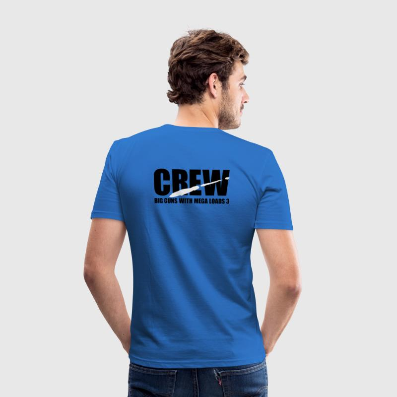 Sky Blue porno crew T-Shirt - Men's Slim Fit T-Shirt