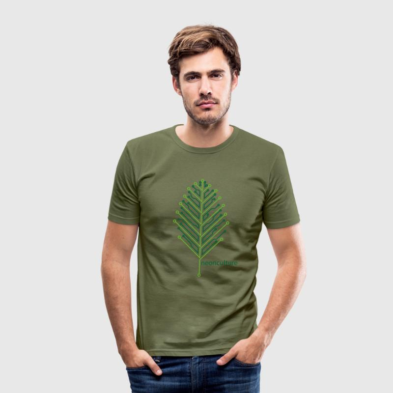 eLeaf - Men's Slim Fit T-Shirt