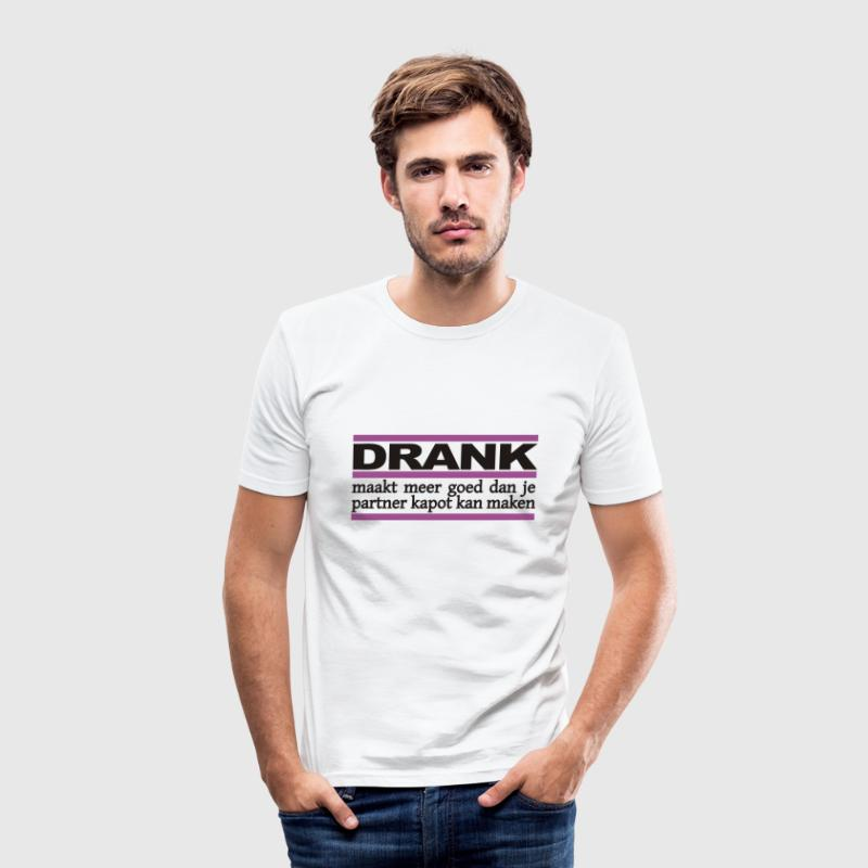 Wit Drank T-shirts - slim fit T-shirt