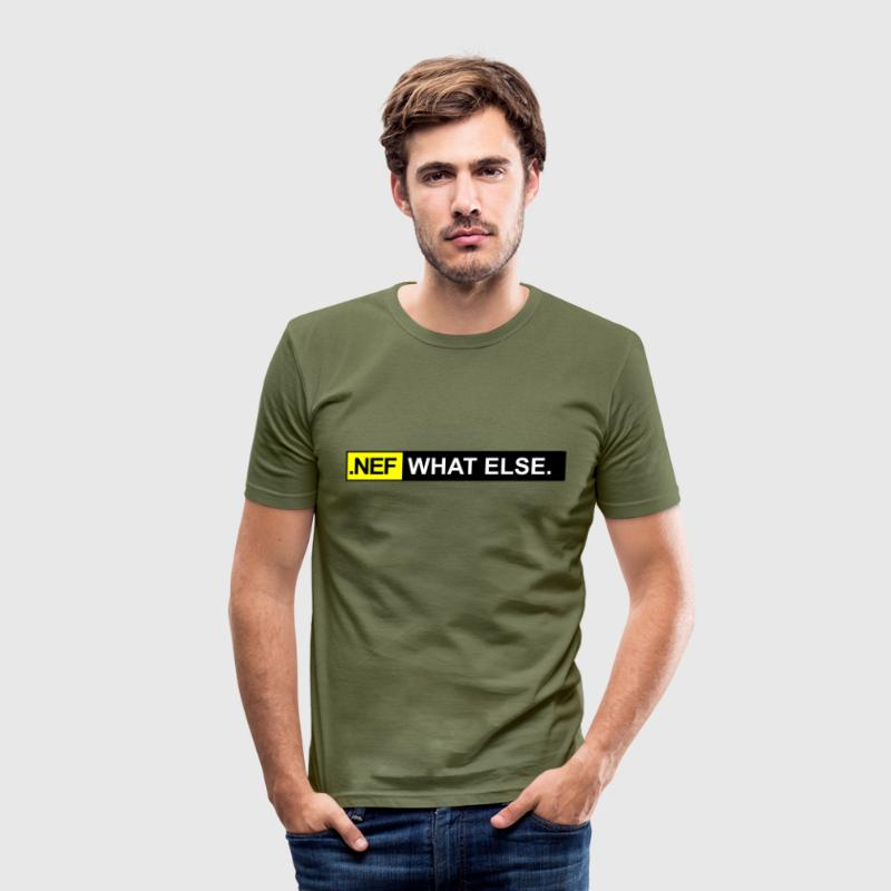 .nef what else T-Shirts - Männer Slim Fit T-Shirt