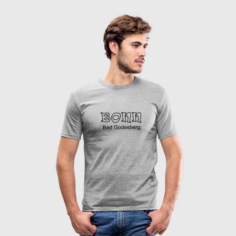 Bonn Bad Godesberg T-Shirts - Männer Slim Fit T-Shirt