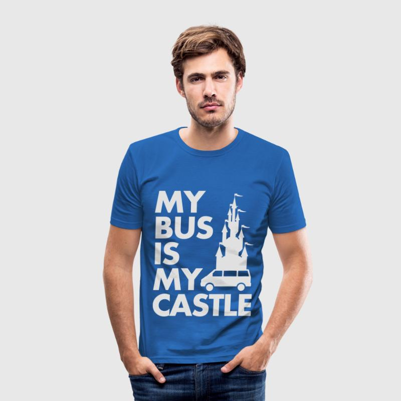 My Bus Is My Castle T-Shirts - Männer Slim Fit T-Shirt