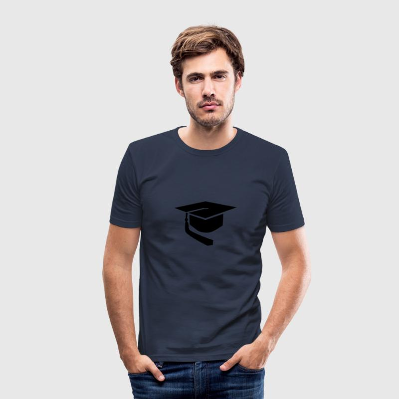 Doktorhut T-Shirts - Männer Slim Fit T-Shirt