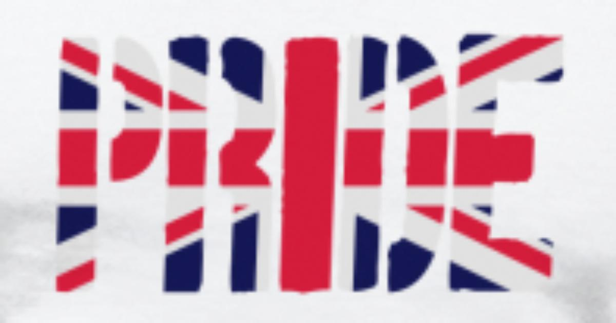 Pride Britain Flag British Flag Union Jack Uk Flag T