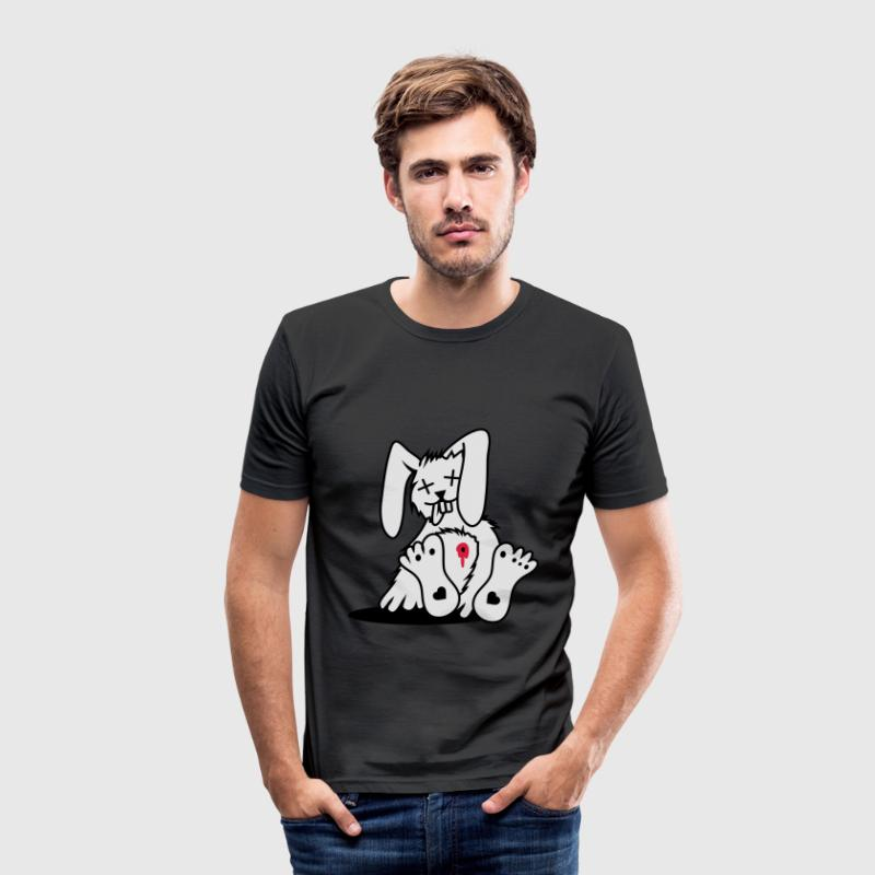 Ein toter Hase T-Shirts - Männer Slim Fit T-Shirt