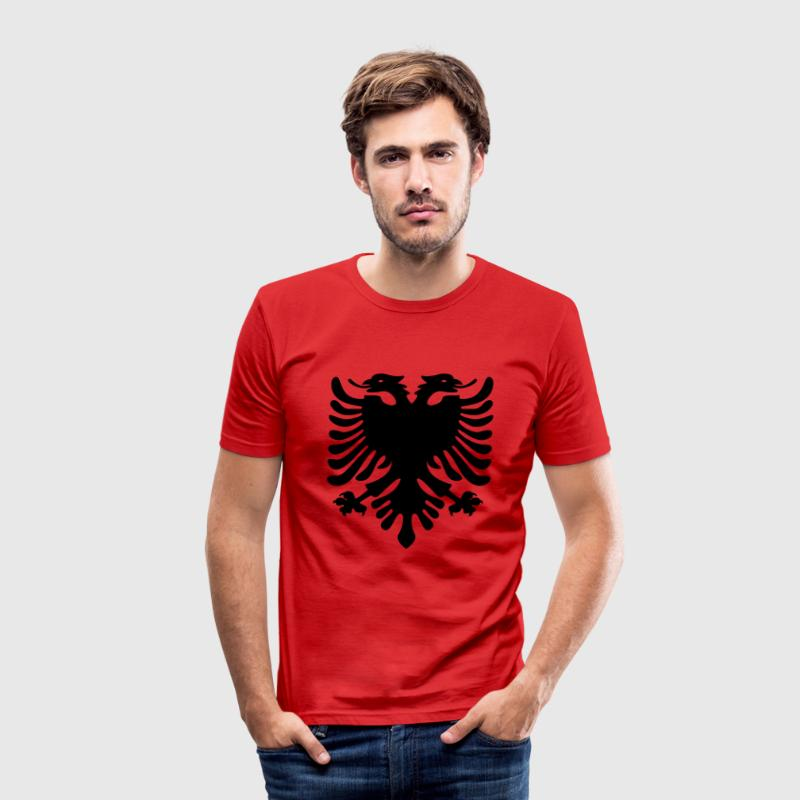 Shqiponja T-Shirts - Men's Slim Fit T-Shirt