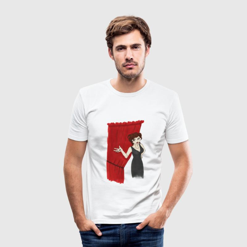 One Good Reason (Audrey Horne) T-Shirts - Men's Slim Fit T-Shirt