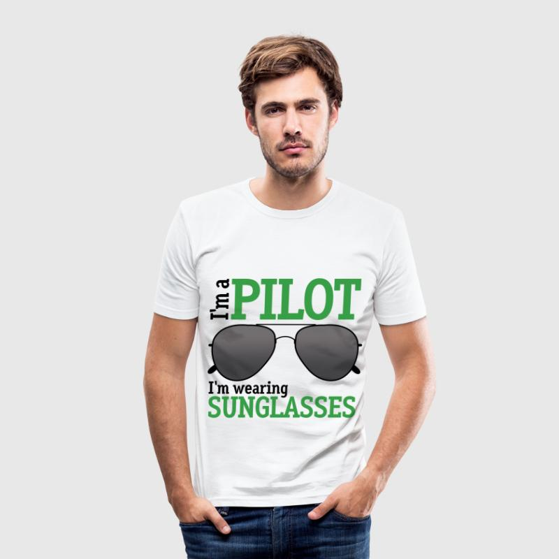 I'm a Pilot - Men's Slim Fit T-Shirt