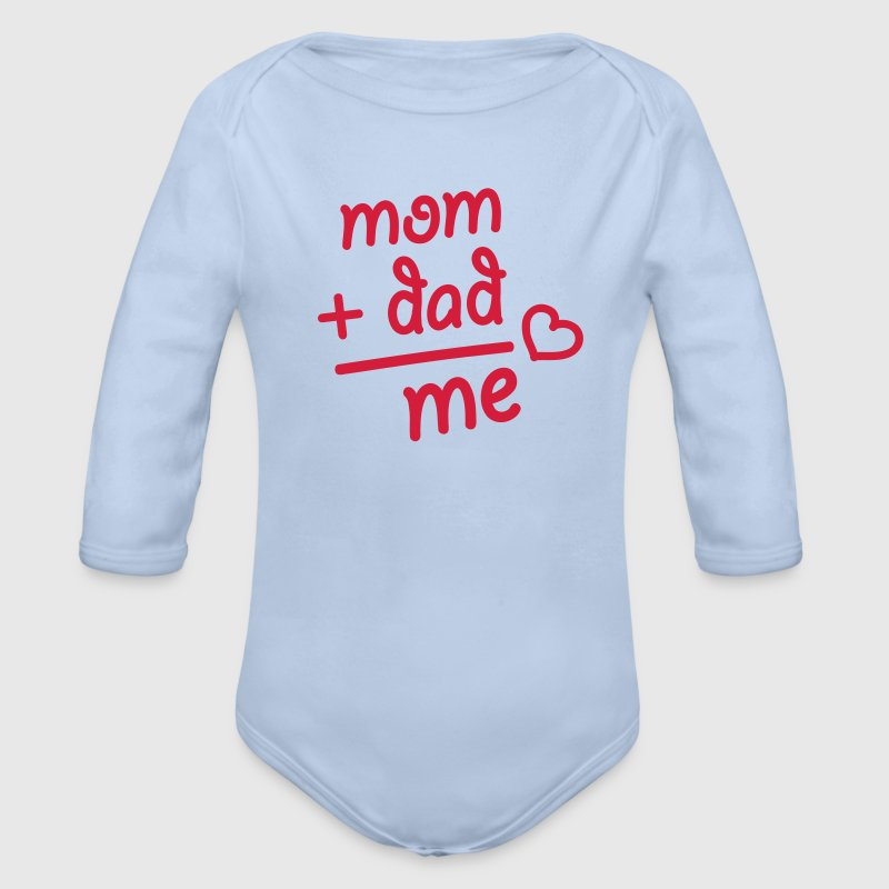 Baby Mom Dad me Pullover & Hoodies - Baby Bio-Langarm-Body