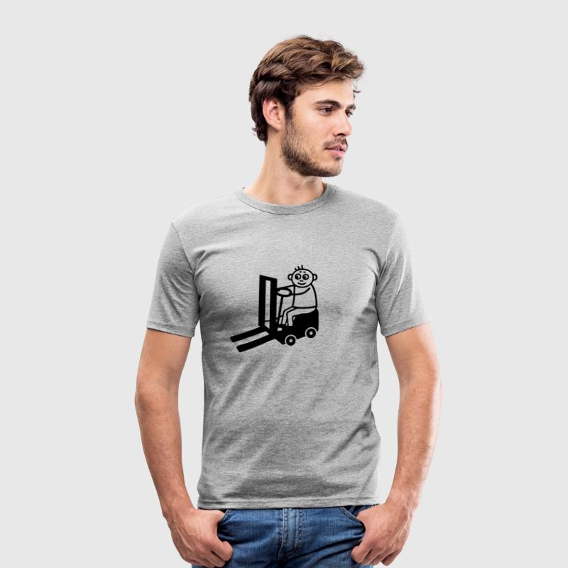 Forklift Driver - Men's Slim Fit T-Shirt