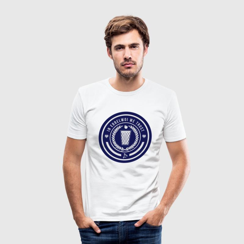 Ebbelwoi - Bembel - Frankfurt - Men's Slim Fit T-Shirt
