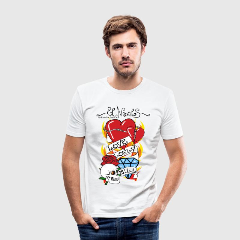 Tattoo Old school Tee shirts - Tee shirt près du corps Homme