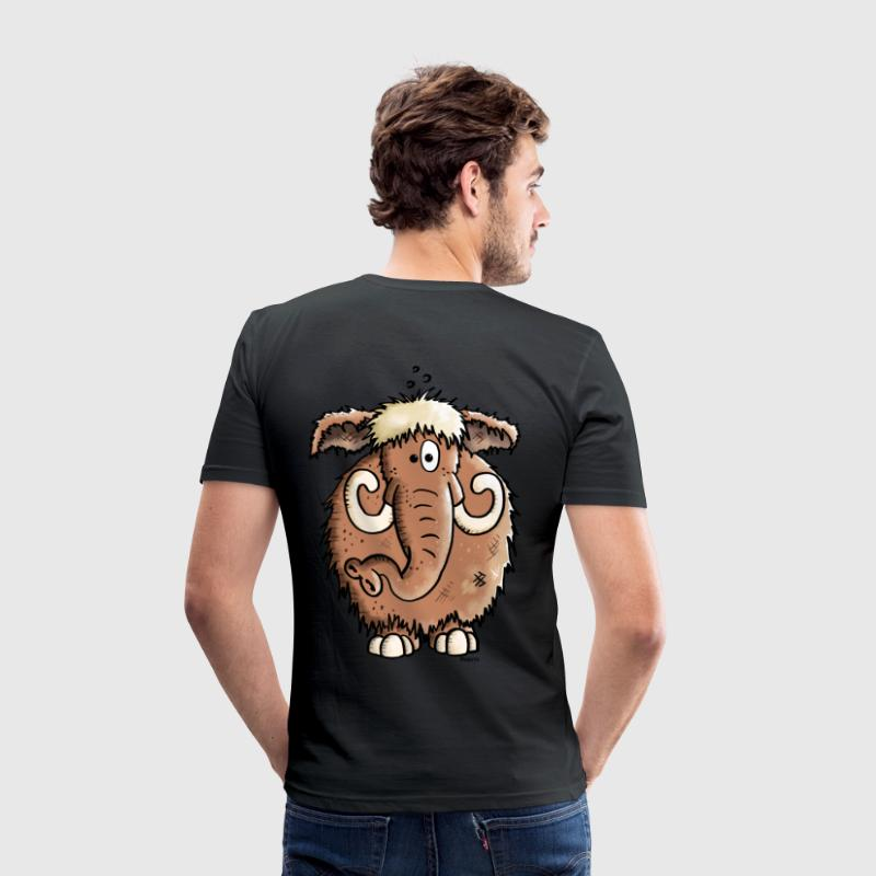 Giant Mammoth - Elephant T-Shirts - Men's Slim Fit T-Shirt