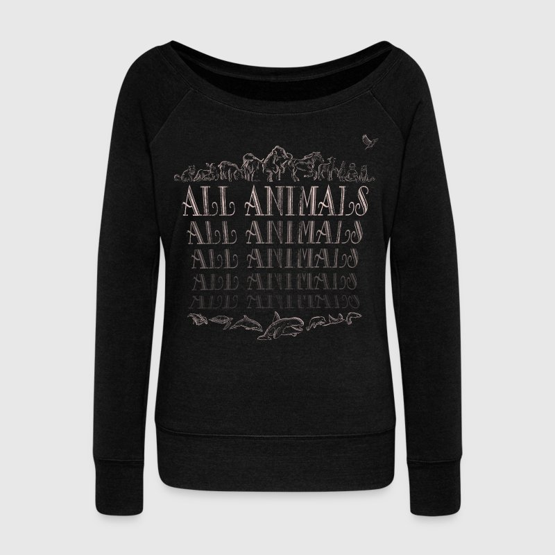 All Animals - Pull Femme col bateau de Bella