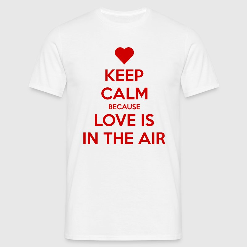 Love is in the air Tee shirts - T-shirt Homme