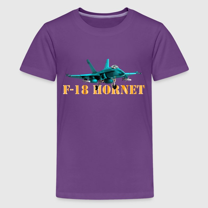 F-18 Hornet - Teenager Premium T-Shirt