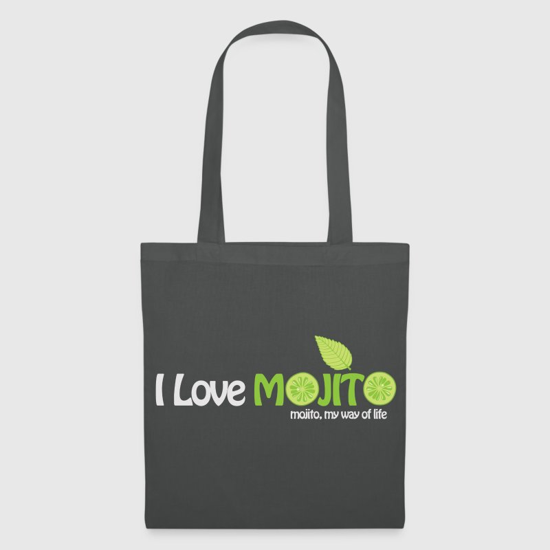 Sac de plage I LOVE MOJITO - Tote Bag