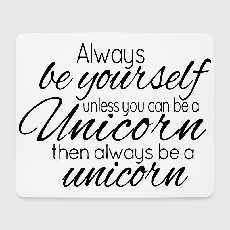 Always be a Unicorn Musmatta - Musmatta (liggande format)