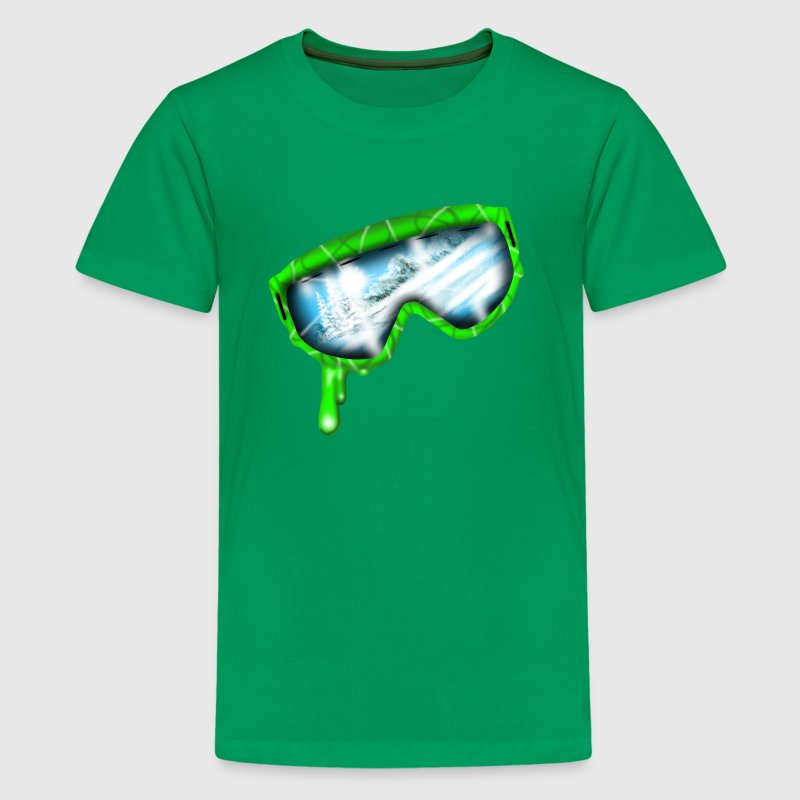 Skibrille - Teenager Premium T-Shirt