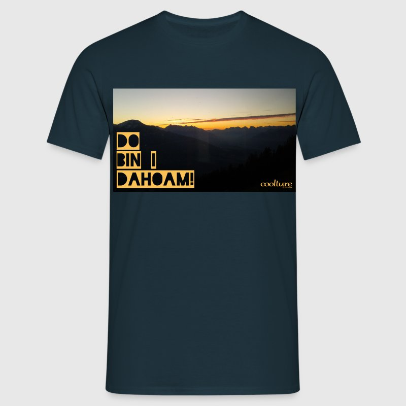 Do bin i dahoam! Alpen Edition - Männer T-Shirt