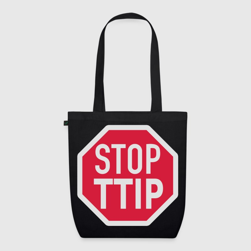 STOP TTIP Bags & Backpacks - EarthPositive Tote Bag