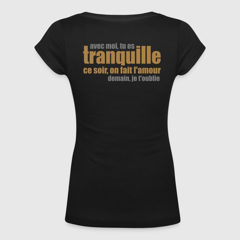 Drague amnésique Tee shirts - T-shirt col U Femme