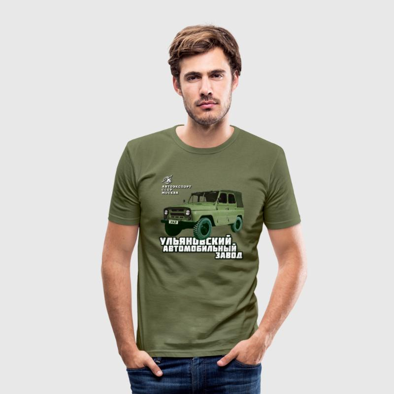 UAZ Jeep T-Shirts - Männer Slim Fit T-Shirt