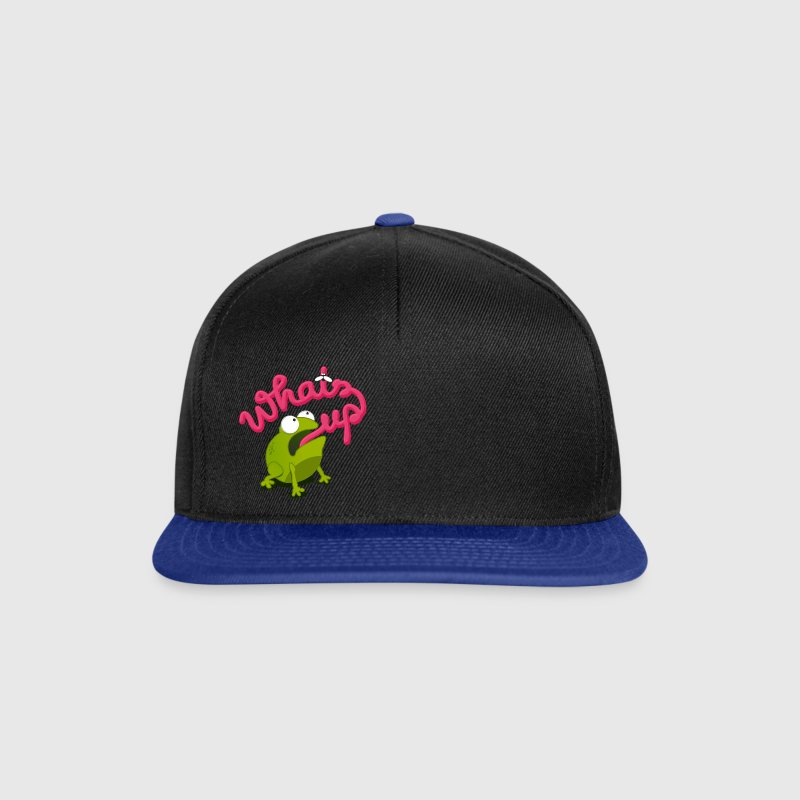 whats up frog Caps & Hats - Snapback Cap